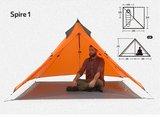 1 persoon piramide tent_